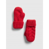 Toddler Cable-Knit Mittens