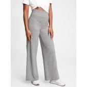 GapFit Brushed Jersey Wide-Leg Pants
