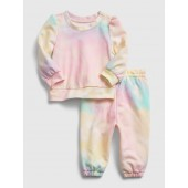 Baby Recycled Tie-Dye Outfit Set
