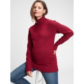Maternity Brushed Cozy Turtleneck Sweater