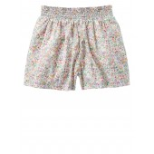 Print Smocked Shorts