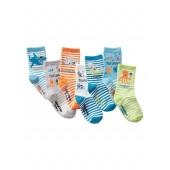 Sea Creature Days-of-the-Week Crew Socks (7-Pairs)
