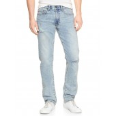 Wearlight Destructed Jeans in Slim Fit with GapFlex
