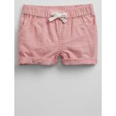 2.75&#34 Pull-On Chambray Shorts