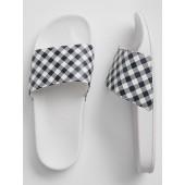 Print Slide Sandals