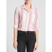 Boyfriend Stripe Shirt in Weave