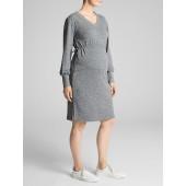 Maternity Sweatshirt Dress