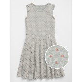 Dot Fit and Flare Dress