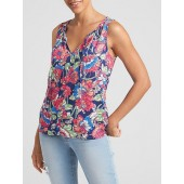 Floral Tank Top in Rayon
