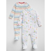 Footed One-Piece (2-Pack)