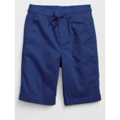 Pull-On Shorts in Twill