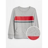 Stripe Pullover in Jersey