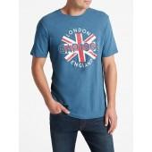 Graphic T-Shirt in Slub
