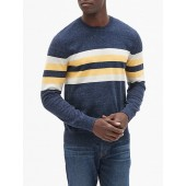 Crewneck Sweater in Cotton Blend