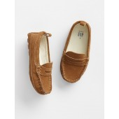 Faux-Leather Moccasins
