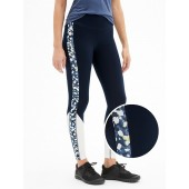 GapFit Floral Colorblock Leggings