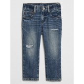 Toddler Straight Destructed Jeans