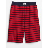 Kids Stripe French Terry PJ Shorts