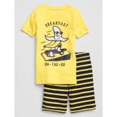 Kids Banana Short PJ Set