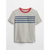 Chest-Stripe Pocket T-Shirt