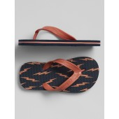 Kids Graphic Flip Flops