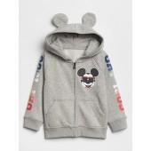 babyGap | Disney Mickey Mouse Raglan Zip Hoodie
