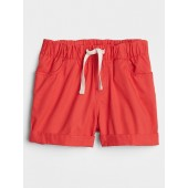 Toddler Pull-On Shorts in Twill