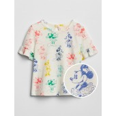 babyGap | Disney Minnie Mouse Ruffle Top