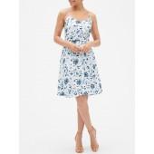 Print Fit & Flare Cami Dress