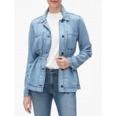 TENCEL™ Utility Shirt Jacket