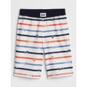 Kids Stripe PJ Shorts