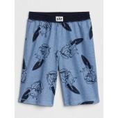 Kids Dino Print PJ Shorts