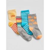 babyGap Print Crew Socks (4-Pack)
