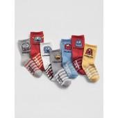 Baby Monster Days-of-the-Week Crew Socks (7-Pack)