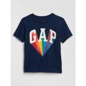 Toddler Short Sleeve Gap Logo Graphic T-Shirt