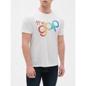 Gap + Pride Logo Short Sleeve T-Shirt