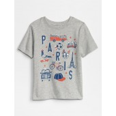 Toddler City Graphic T-Shirt