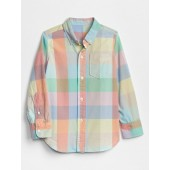 Kids Print Long Sleeve Shirt