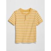 Toddler Henley Stripe Short Sleeve T-Shirt