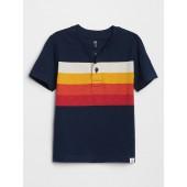 Toddler Chest-Stripe Henley T-Shirt