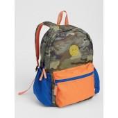 Kids Camo Colorblock Backpack