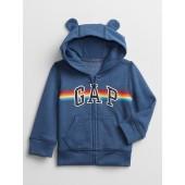 Baby Recycled Gap Logo Hoodie