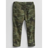 Toddler Camo Slim Pull-On Jeans with Stretch