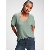 Softspun Scoopneck T-Shirt