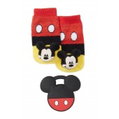 Mickey Costume Rattle Socks & Teether Set (Baby Boys)