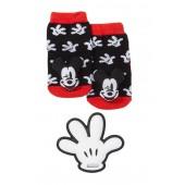 Mickey Hand Teether & Rattle Socks Set (Baby Boys)