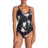 Elisa Floral Print One-Piece Swimsuit