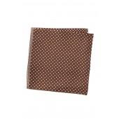 Silk 4 Panel Dot Pocket Square
