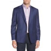 Jetsetter Slim Fit Stretch Windowpane Wool Sport Coat