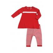 Holiday Tunic & Legging Set (Baby Girls)